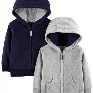 Carter's Shirts & Tops - Boy zip up hoodie